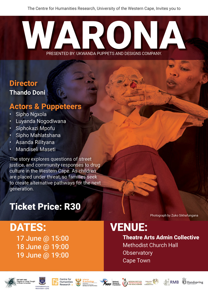 Warona Poster Cape Town