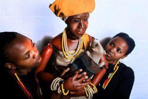 Luyanda Nogodlwana, Siphokazi Mpofu, Sipho Ngxola and Ncedile Daki
